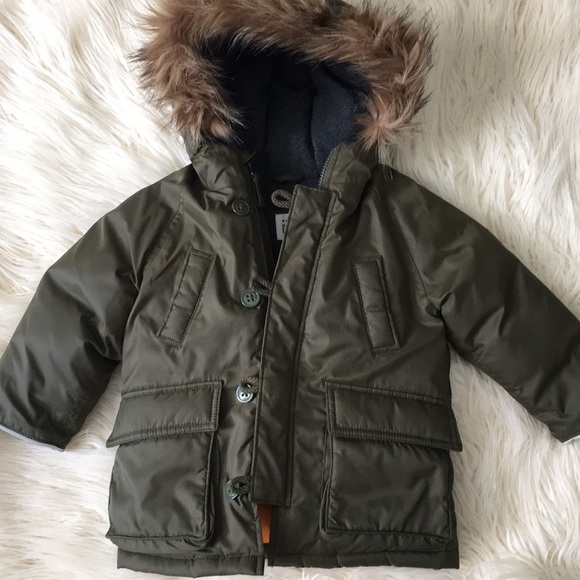 GAP Other - Baby GAP Military Green Down Coat 18- 24M